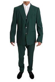 Wool 3 Piece Stretch Suit