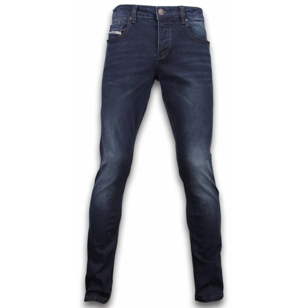 Basic Jeans - Regular Fit Casual 5 Ficka