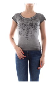 BOMBOOGIE TW5853 T JVUP T SHIRT AND TANK Women GREY