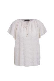 72785 blouse ruit ruffle