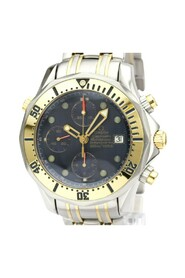 Pre-owned Seamaster Automatic Stainless Steel Gold Men's Sport 2398.80