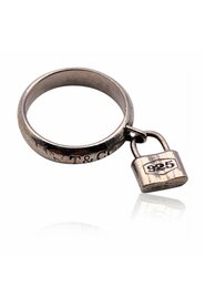 Sterling Silver 1837 Padlock Ring Size 5