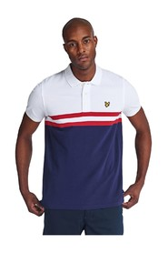 YOKE STRIPE POLO SHIRT