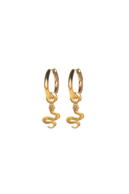 Earrings snake