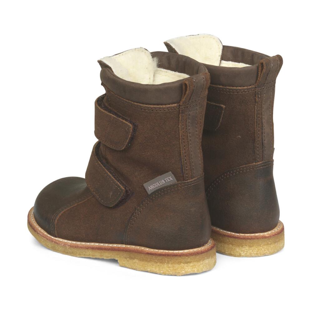1202 Boots Støvler Sort ANGULUS