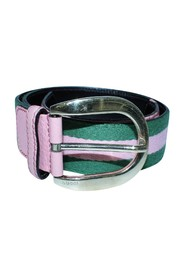 Striped Belt -Pre Owned Condition Good