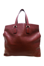 pre-owned Soho Open Tote Bag Leather Calf