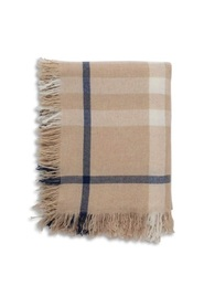 Checked Throw Scarf
