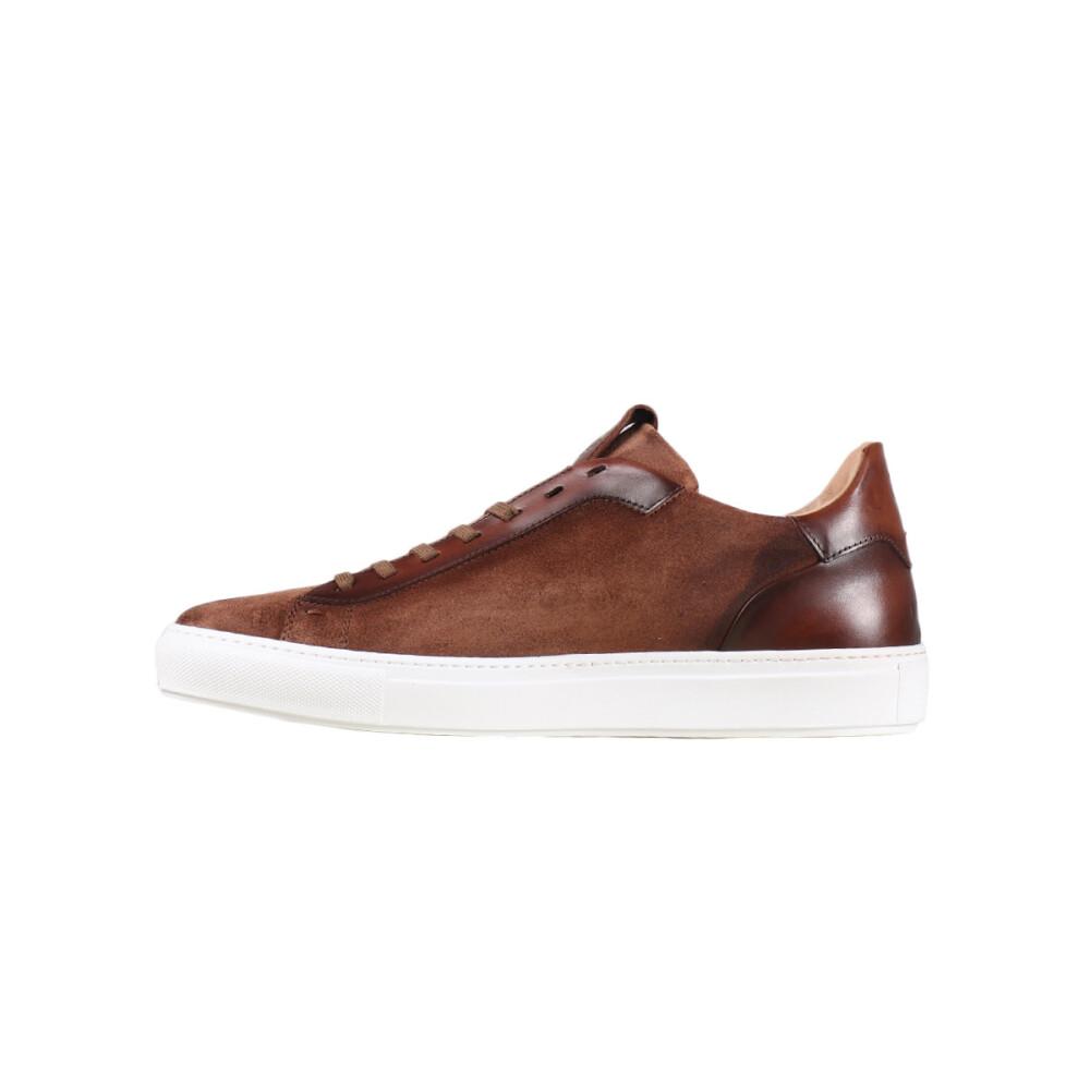 Brown Sneakers HE089129CAMP05 | GIORGIO | Sneakers | Herenschoenen