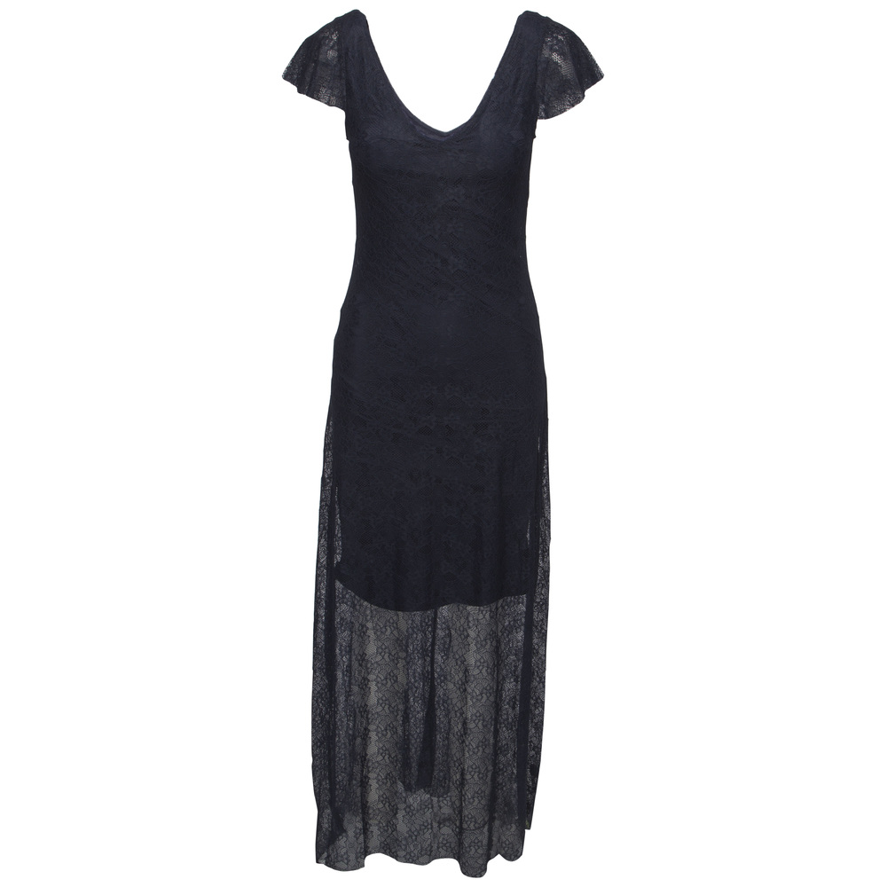 Soaked in Luxury Roseville Dress Navy