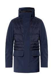 Breton quilted down jacket