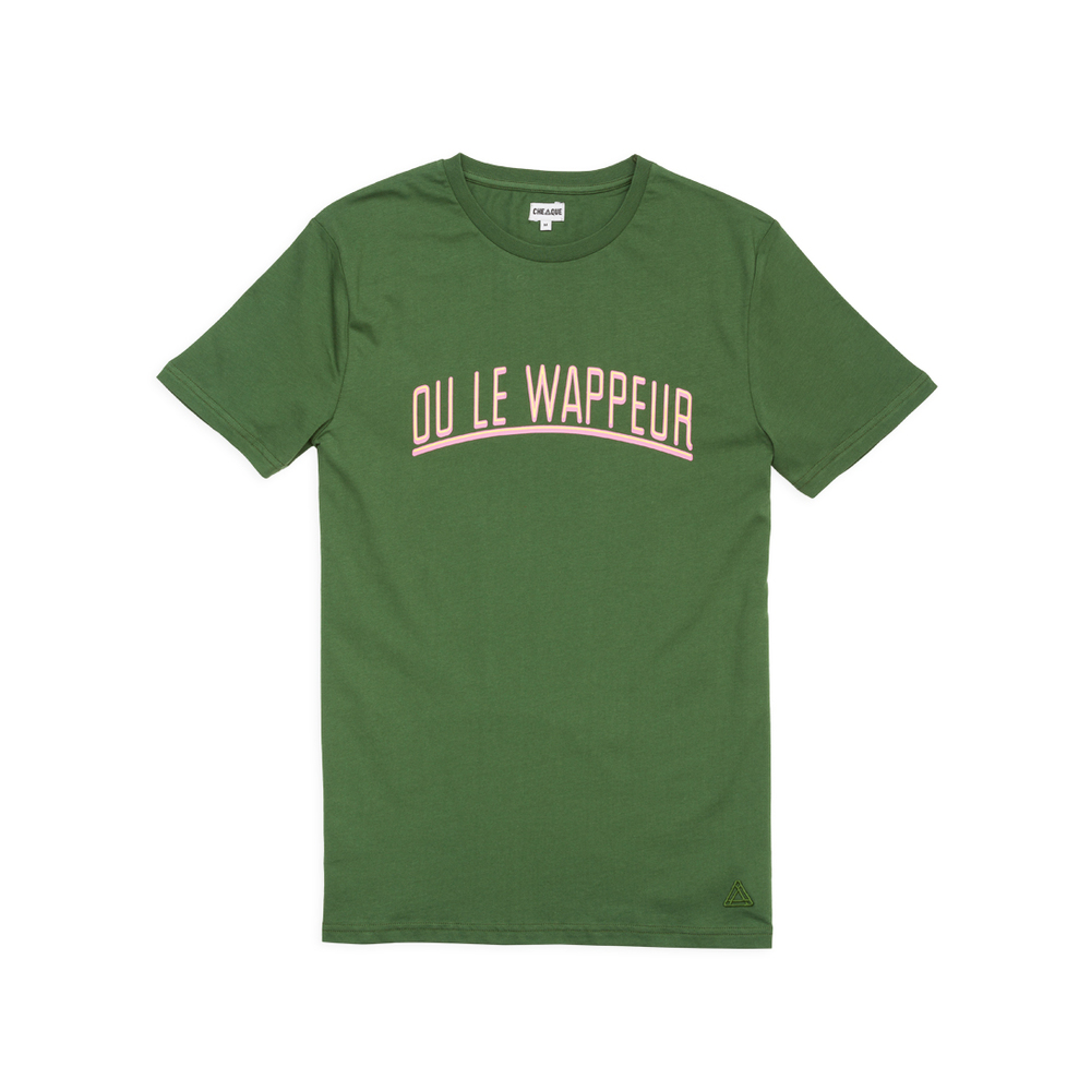 OF DE T-SHIRT VAN WAPPEUR