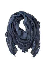 Big Embroidered Scarf