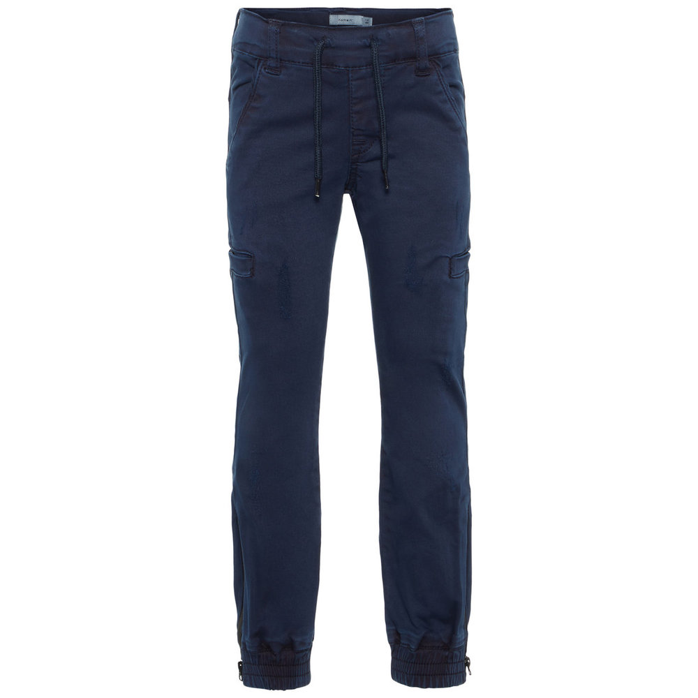 Twill Trousers regular fit cargo