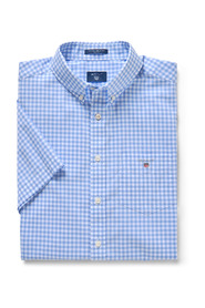The Broadcloth Gingham Reg Ss Skjorter