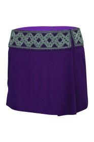 Mini nederdel med udsmykninger