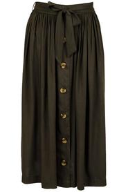 Beatrice Woven Skirt Army