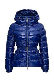 Gloss Down Jacket with Belt