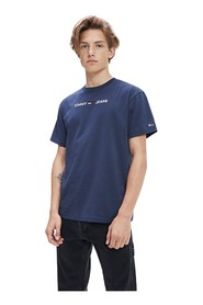 TOMMY JEANS DM0DM07231 SMALL LOGO T SHIRT AND TANK Men BLACK INK
