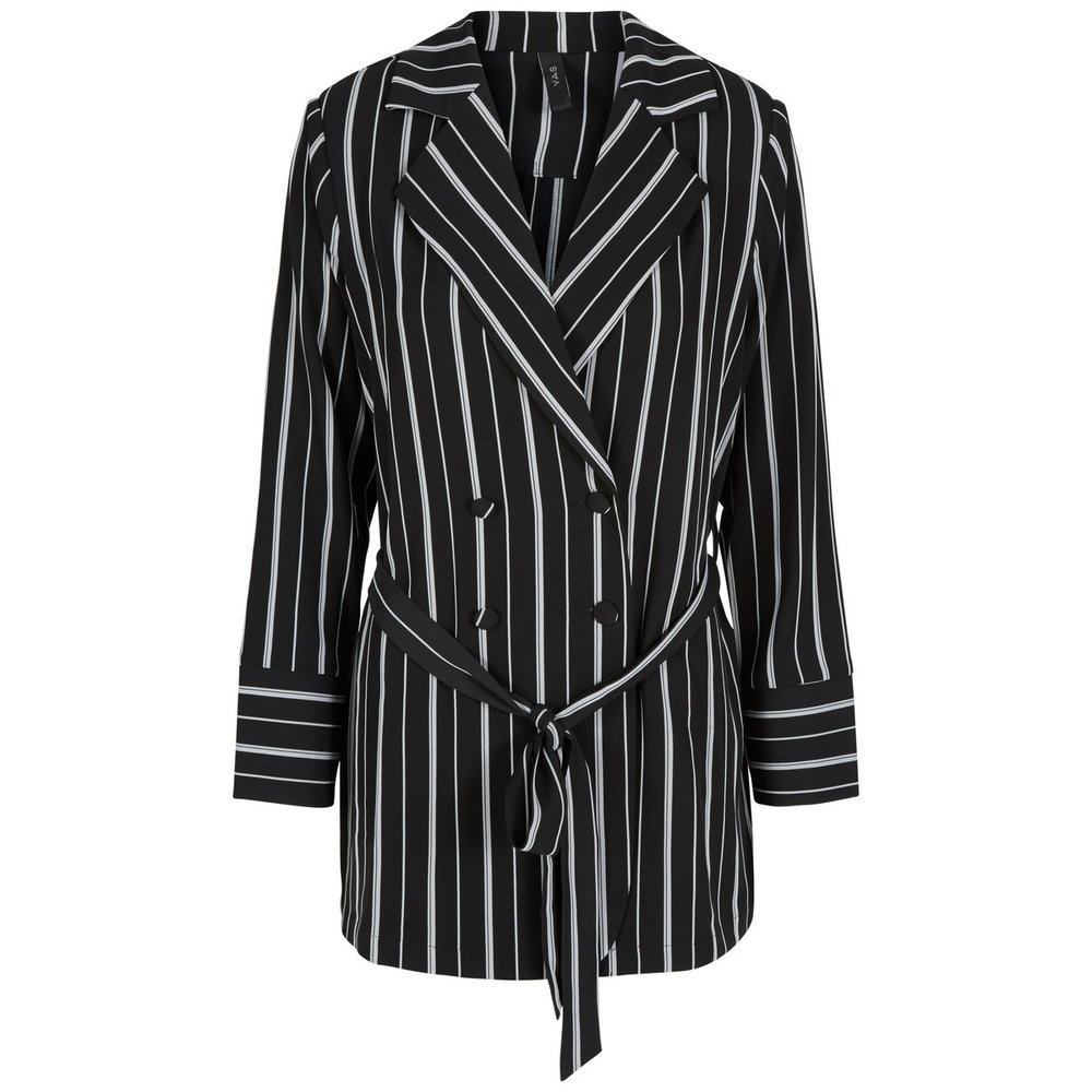 Blazer Soft striped