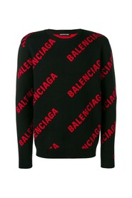 All-Over Logo Knitted Pullover