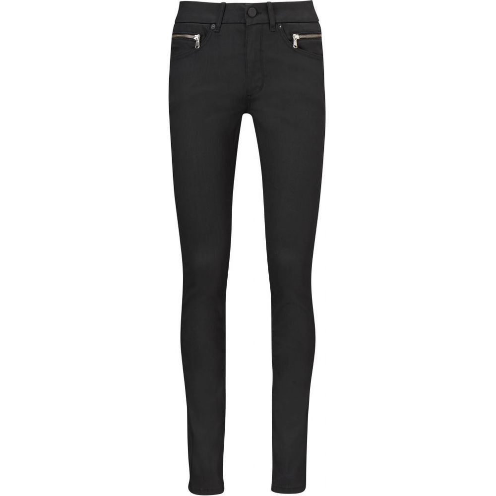 Naomi jeans black coated
