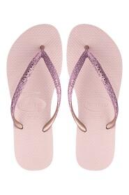 Havaianas - Klipklapper, Slim Glitter - Ballet Rose