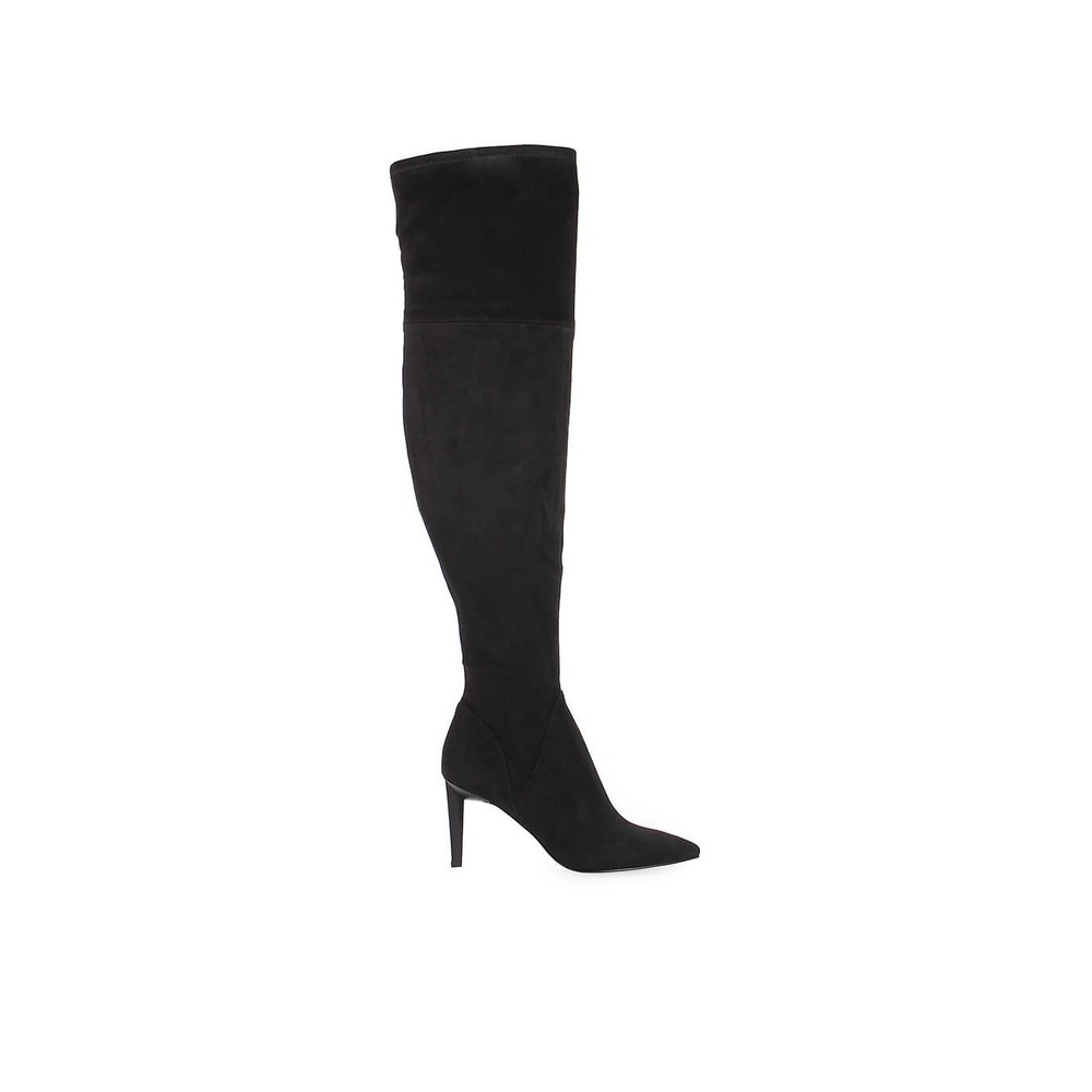 SUEDE ZOA HEELED BOOT