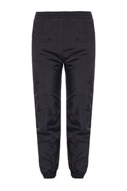 Logo-embroidered trousers