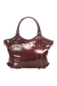 Vanity Patent Leather Tote Bag