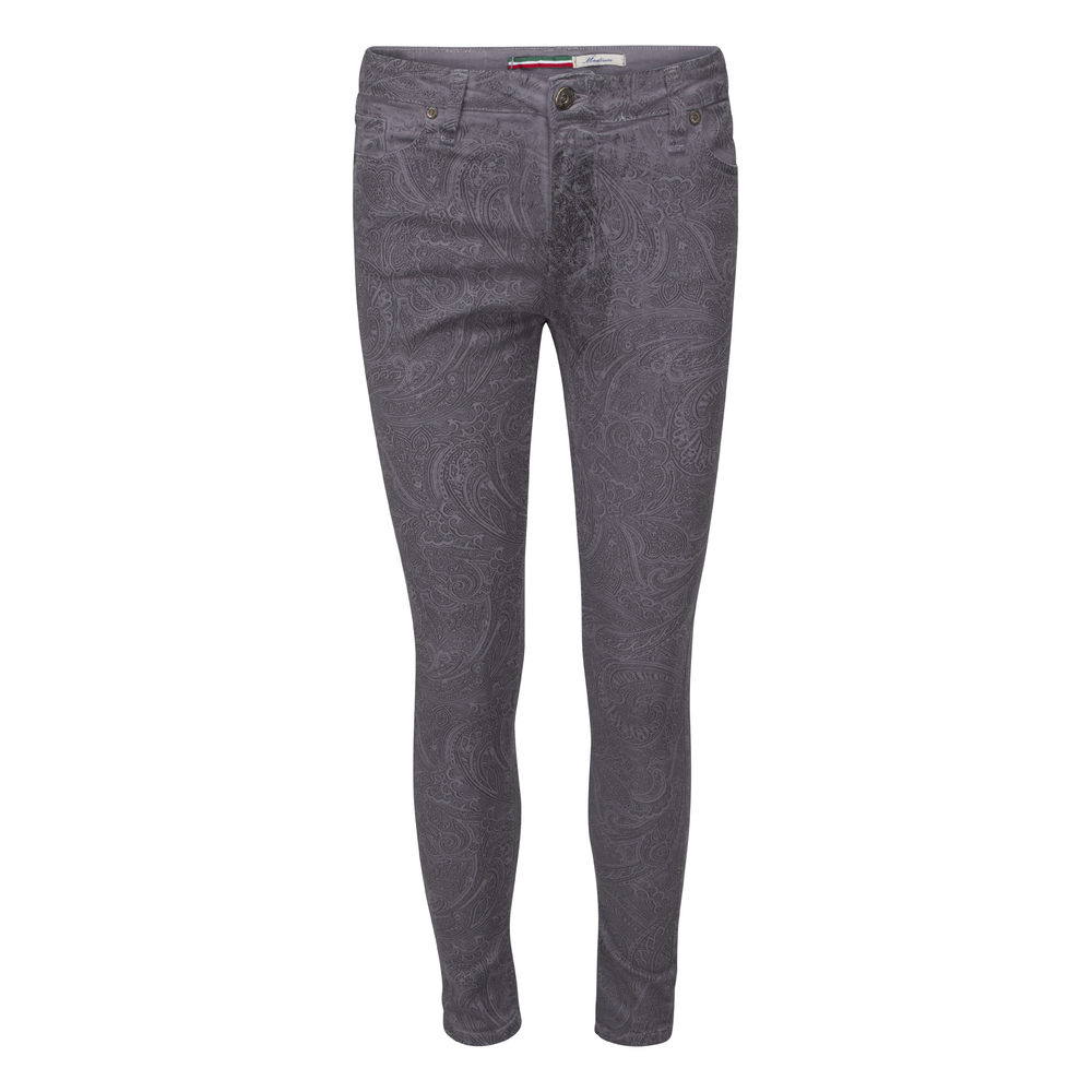 Please Byxor Slim Catwoman Grey Paisley
