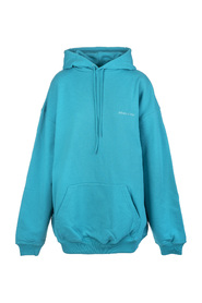 Oversize hoodie with logo