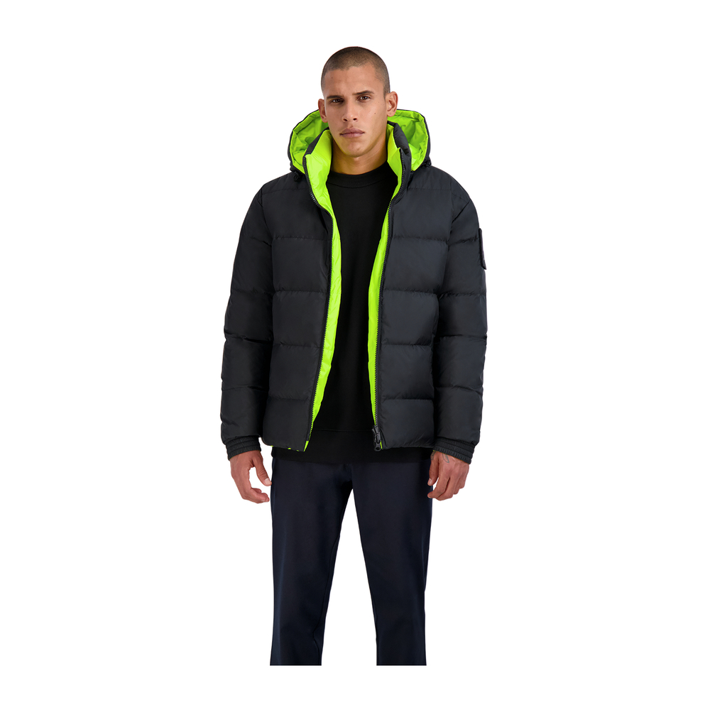 Moose Knuckles Black syndicate puffer Moose Knuckles