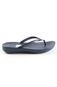 donkerblauw FitFlop Iqushion Ergonomic Midnight Na slippers