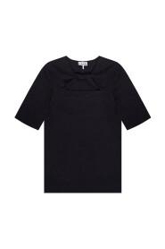 Cut-out T-shirt