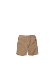 Beige Norse Projects Aros Light Twill Shorts Bukse