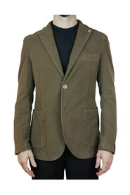 SINGLE-BREASTED JACKET WITH PATCH POCKETS JACKETS 156 MASTICE