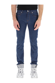 taylor fit jeans with greca