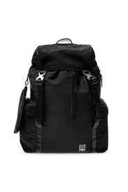 Backpack with several pockets