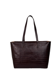 Thelma Dark Brown Teramo Shopper