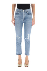 jeans riley high rise straight