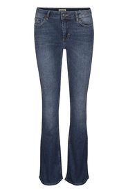 Twist & Tango Julie Flare Jeans Mid Blue Denim