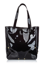 Patent Tote Leather