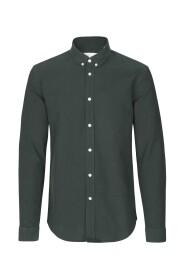 Mørkegrønn Samsøe Samsøe Liam Bx 8111 Skjorte