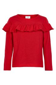 THE NEW - Bluse, Giselle LS (TN1846) - True Red