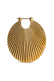 Shell Earring, gold-plated sterling silver