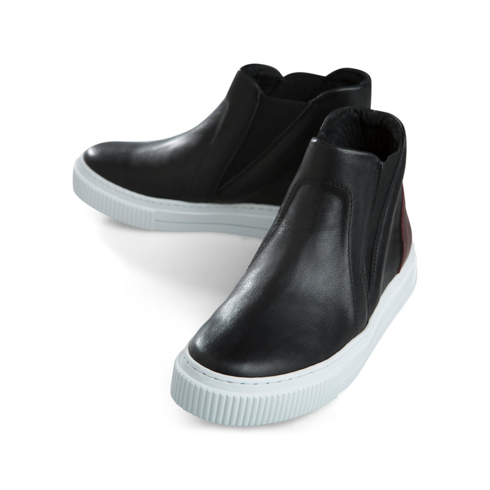 Sneakers High leather