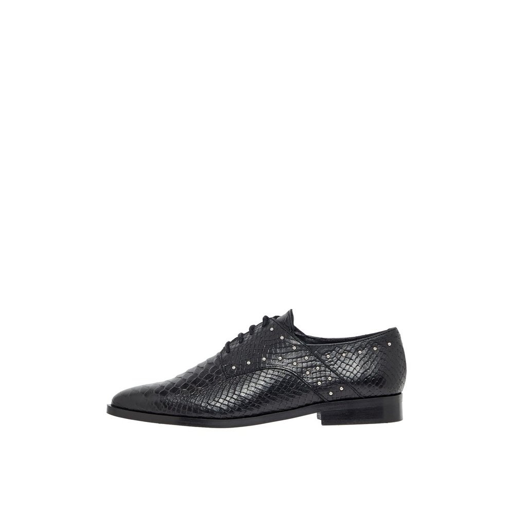 Derby Shoes Leather Studded