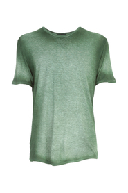 ROUND NECK T-SHIRT WITH SHADOWS