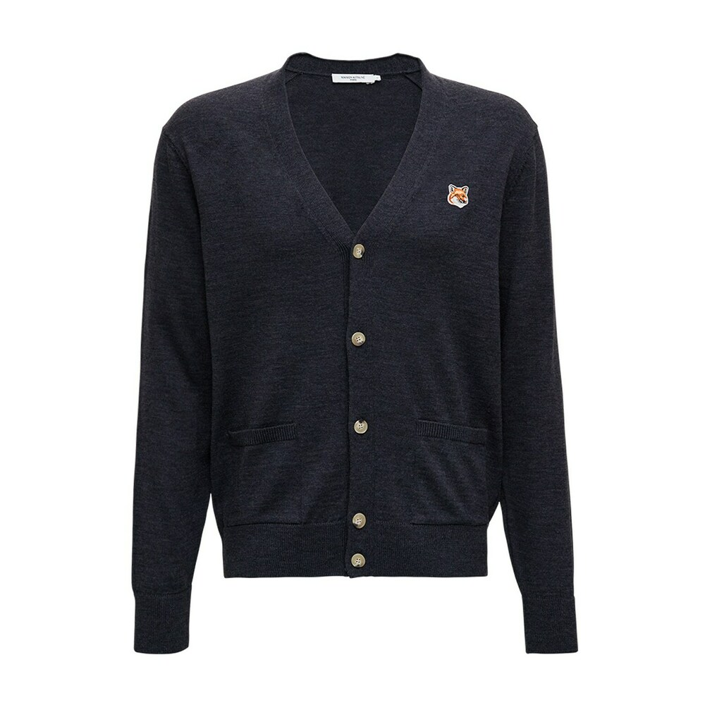 Cardigan with front Patch
